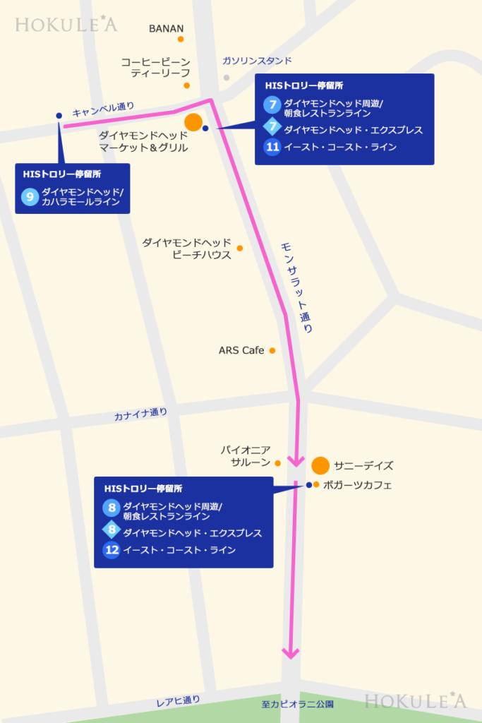 モンサラット通り 地図