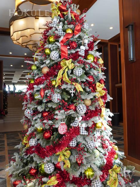 クリスマスハワイ ラグーンタワー  ツリー