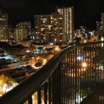 ホクラニワイキキ:ラナイからの眺め
