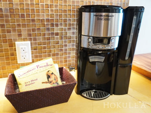 グランドアイランダー キッチン コーヒーメーカー