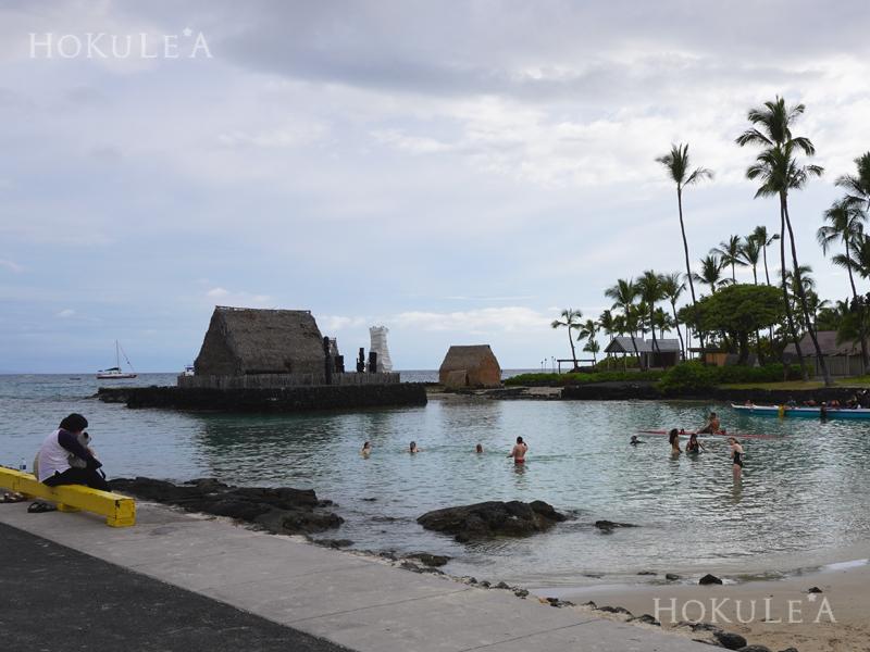 ハワイ島 カイルア桟橋 アフエナヘイアウ