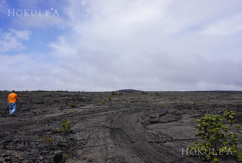 キラウエア 溶岩台地