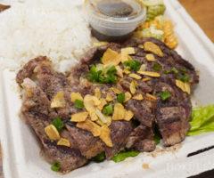 ハワイでUber Eats<第三弾>パイオニアサルーンのリブアイ・ステーキ